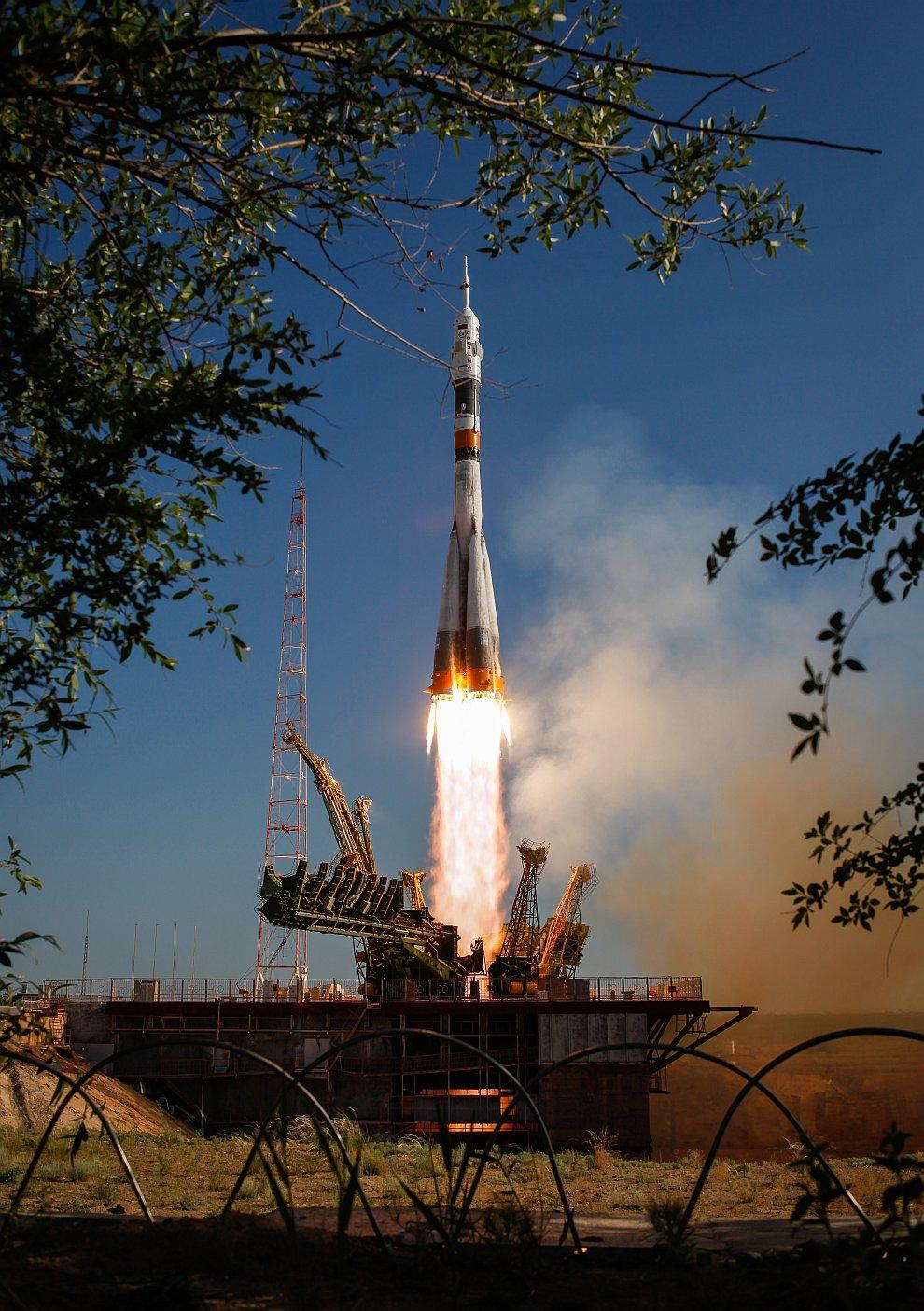 15 мая 2012 с космодрома Байконур стартовал космический корабль «Союз ТМА-04М»