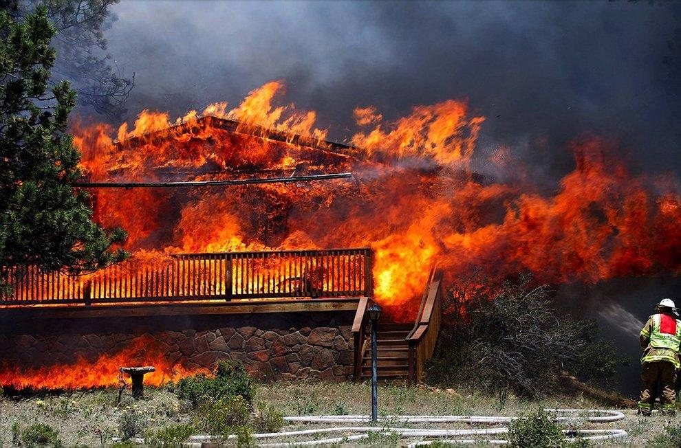 Самый разрушительный пожар в истории Колорадо