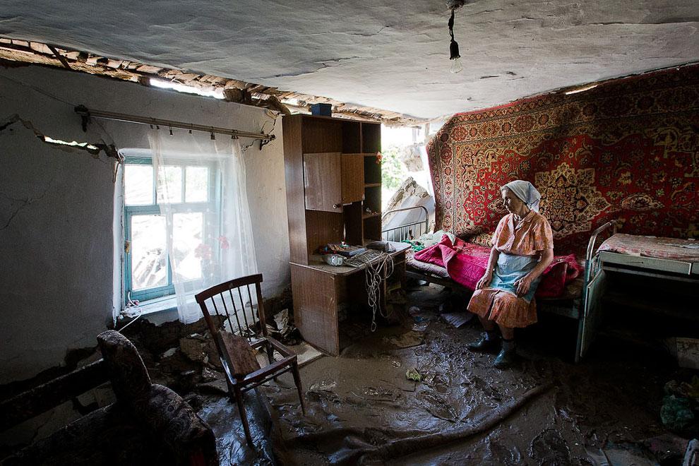 В ночь на субботу 7 июня 2012 на Кубани произошло страшное наводнение