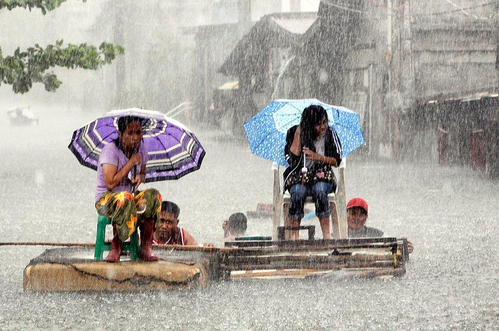 8 августа 2012 на Манилу обрушились сильнейшие за три последних года ливни