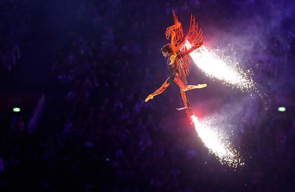 12 августа 2012 состоялась торжественная церемония закрытия Олимпийских игр 2012 в Лондоне