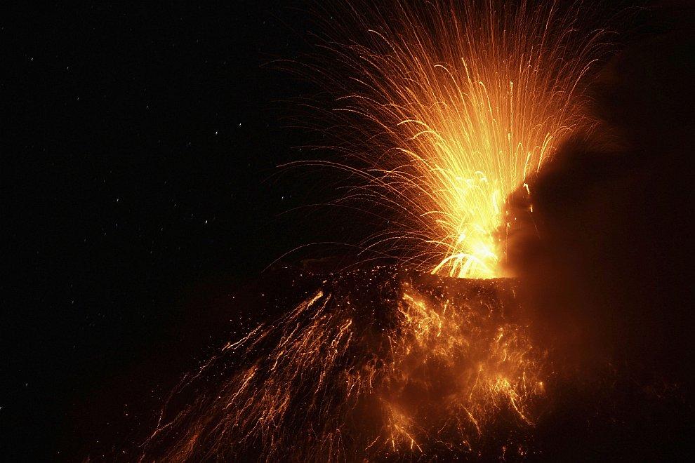 Вулкан Тунгурауа («Огненное горло»)
