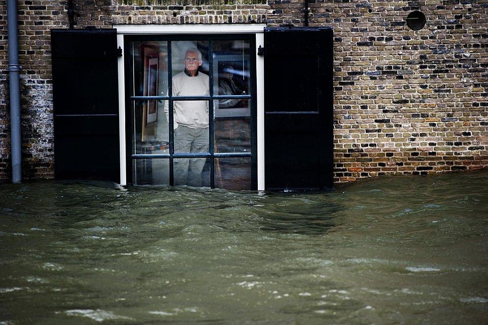 В начале года в Нидерландах произошло сильное наводнение