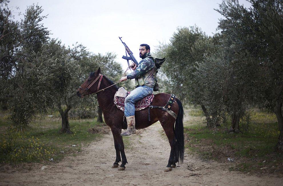 Портрет сирийского мятежника