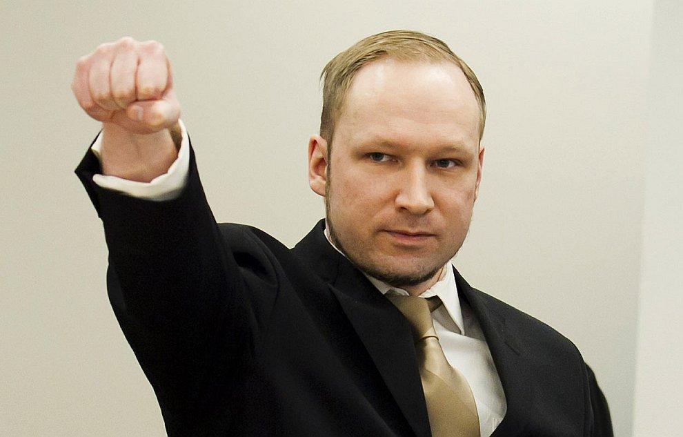 16 апреля 2012 в Осло начался суд над «норвежским стрелком» Андерсом Брейвиком, обвиняемым в убийстве 77 человек в результате двойного теракта