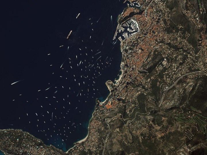 Ежегодная парусная регата в Монако, 22 сентября 2012