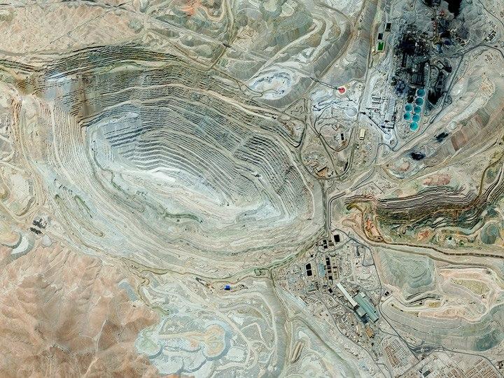 Медный рудник в Чили