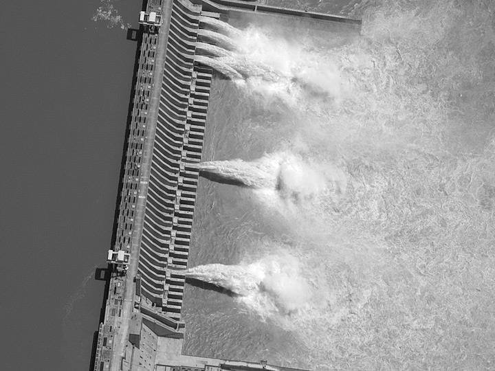 Плотина «Три ущелья» в Китае