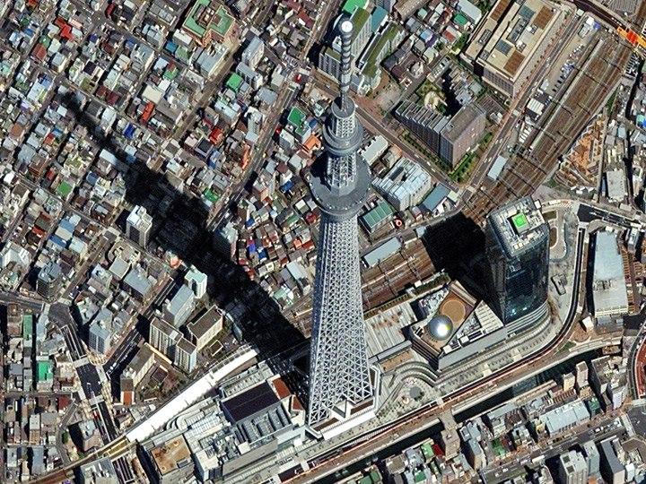 Skytree (Небесное дерево) — самая высокая телебашня в мире