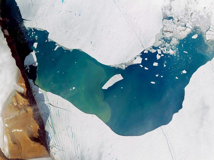 Ледник Петерманн, Гренландия