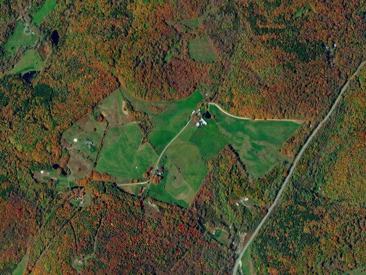 Штат Вермонт. Краски осени