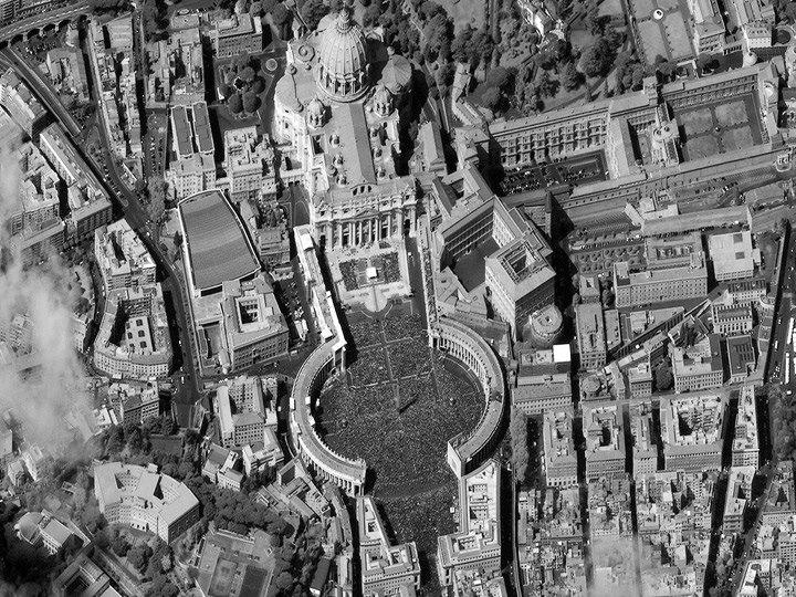 Святого Петра площади, Ватикан. Пасха