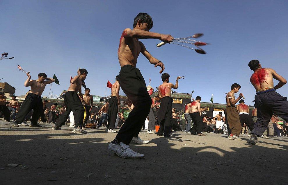 «Праздник» Ашура в Кабуле, 24 ноября 2012