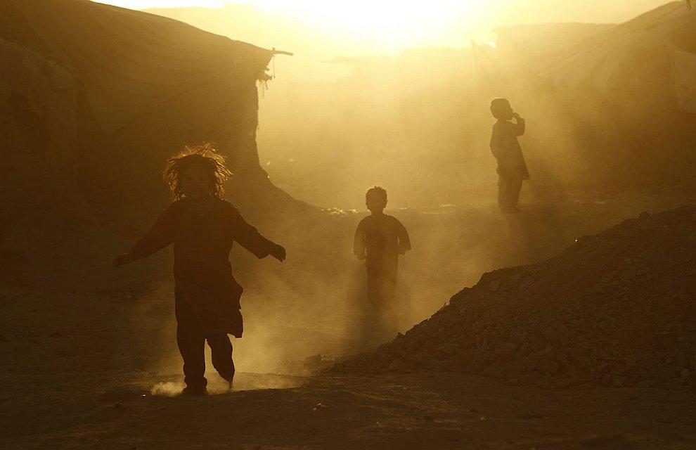 Лагерь беженцев в Кабуле