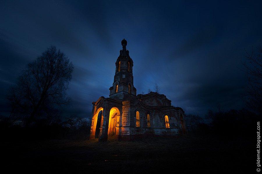 Слободка. Руины церкви святого Николая