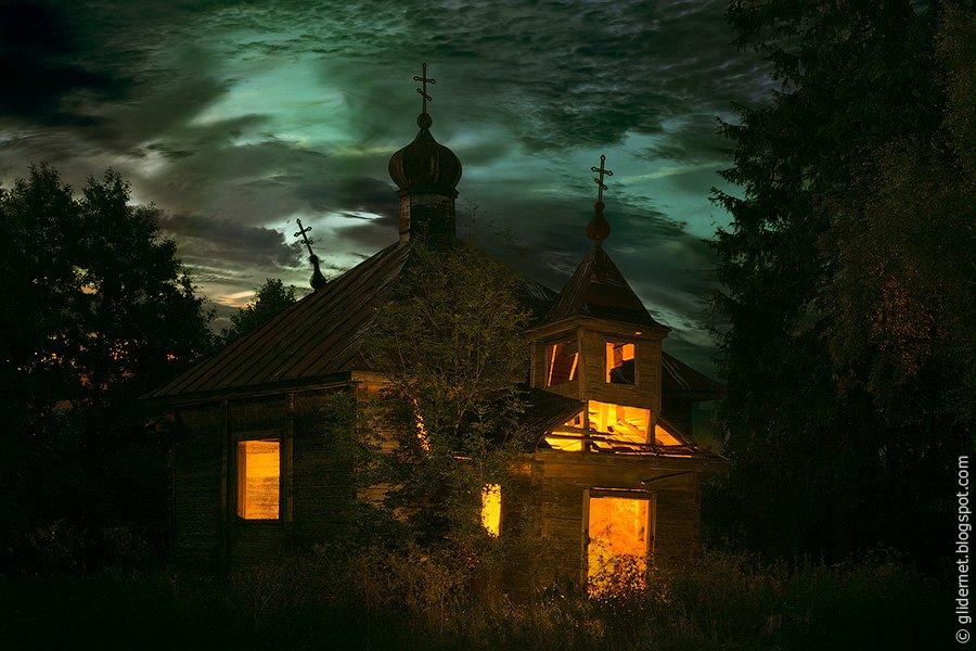 Деревянная церковь. д. Ляховичи 2-е, Новогрудский район, Гродненская область