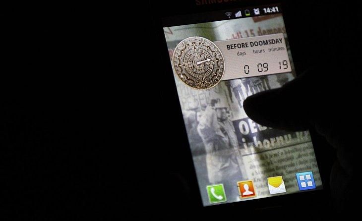 Для смартфонов выпущена куча приложений, посвященных концу света