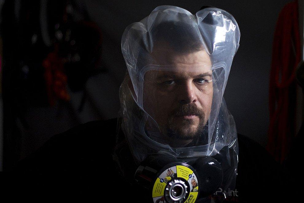 Модная маска с функцией очистки воздуха. Пригодится для конца Света, штат Юта
