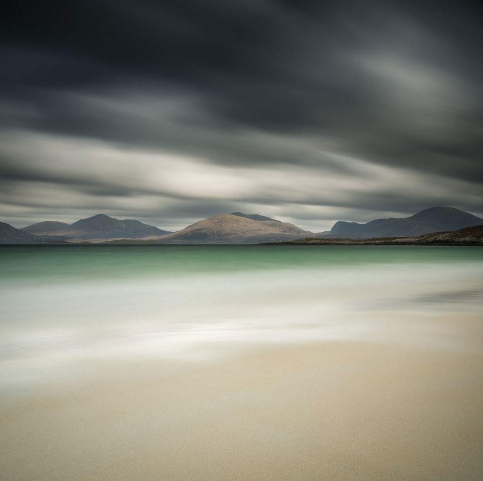 Шотландия: остров Харрис в облаках