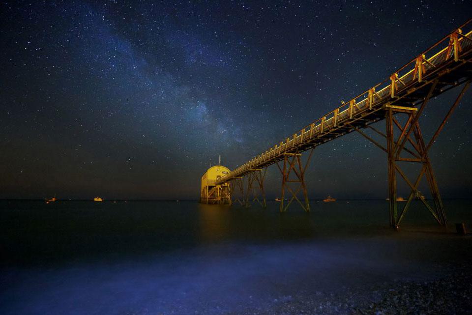 Млечный путь. Вид из графства Западный Суссекс
