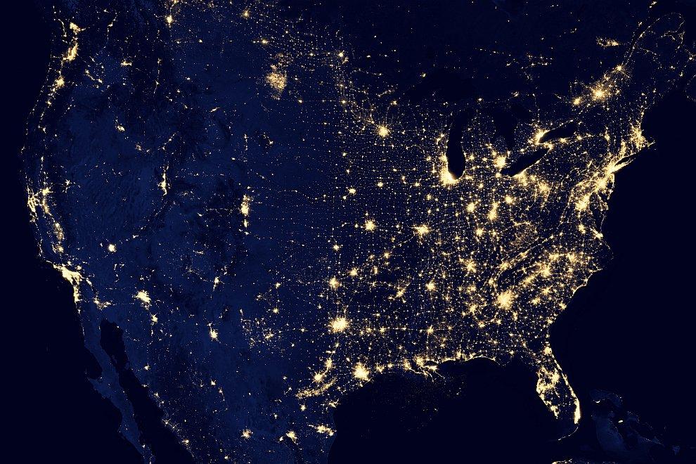 Соединенный Штаты Америки, октябрь 2012
