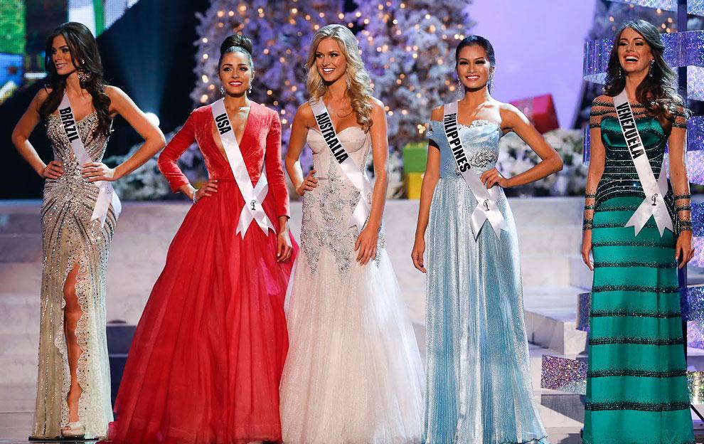 Победительницы конкурса Мисс Вселенная 2012