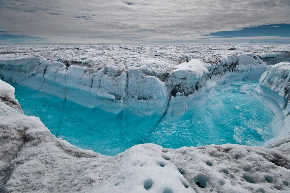Ледниковый щит и Гренландии