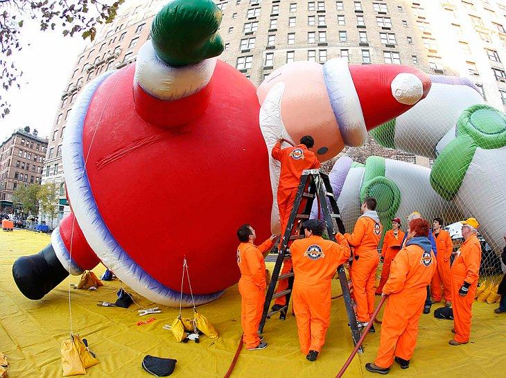 Совсем недавно в Нью-Йорке прошел парад Мейси в честь Дня благодарения 2012