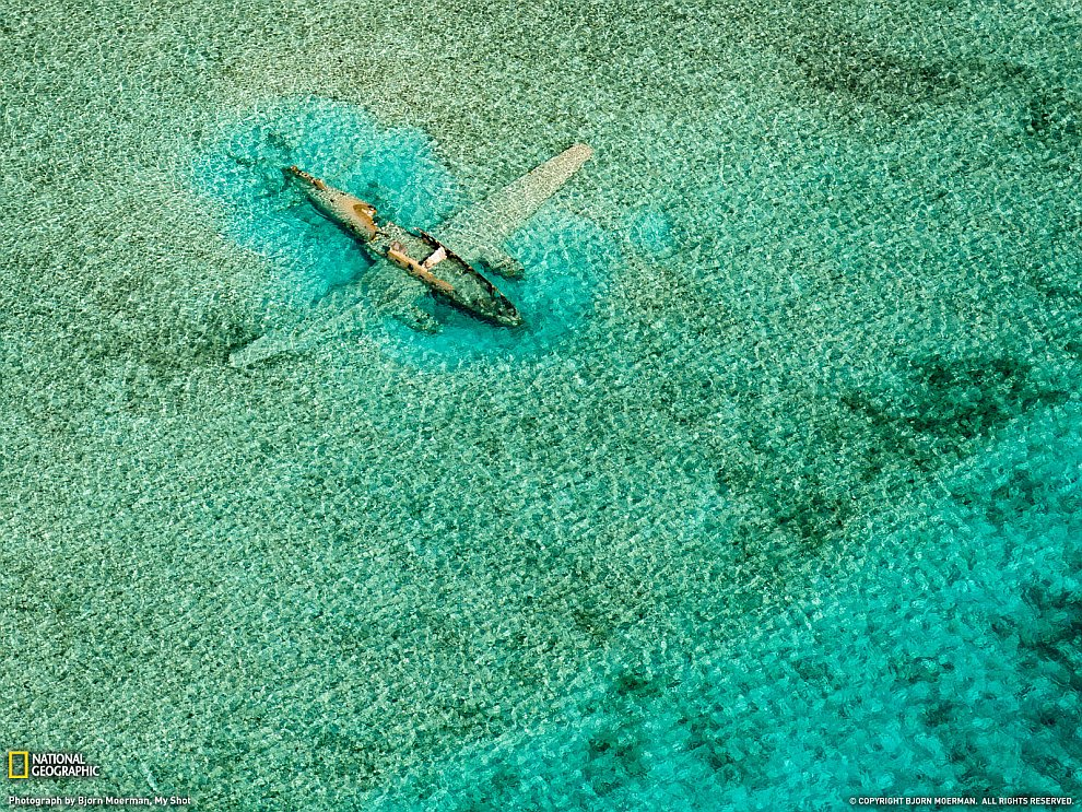 Самолет под водой, Багамские острова