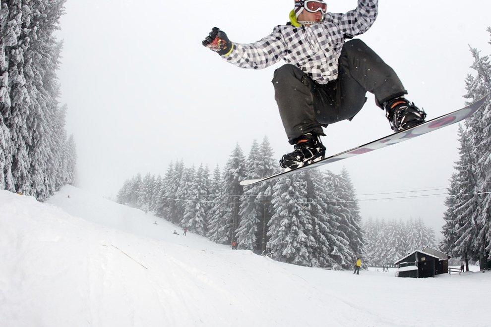 Зимний сезон у сноубордистов, Рейнланд-Пфальц, Германия