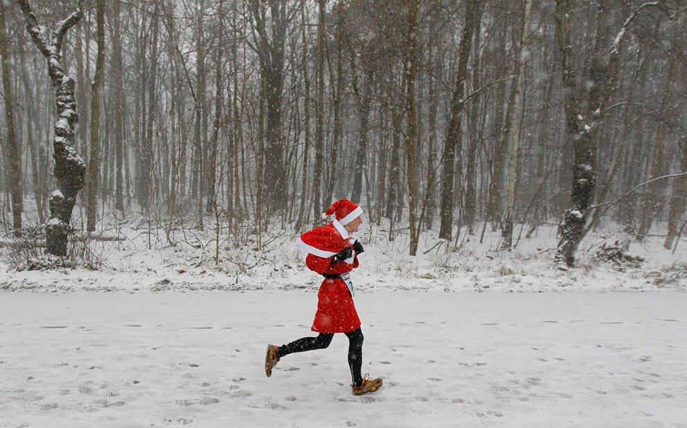 Худосочный Дед Мороз из Михендорфа, Германия