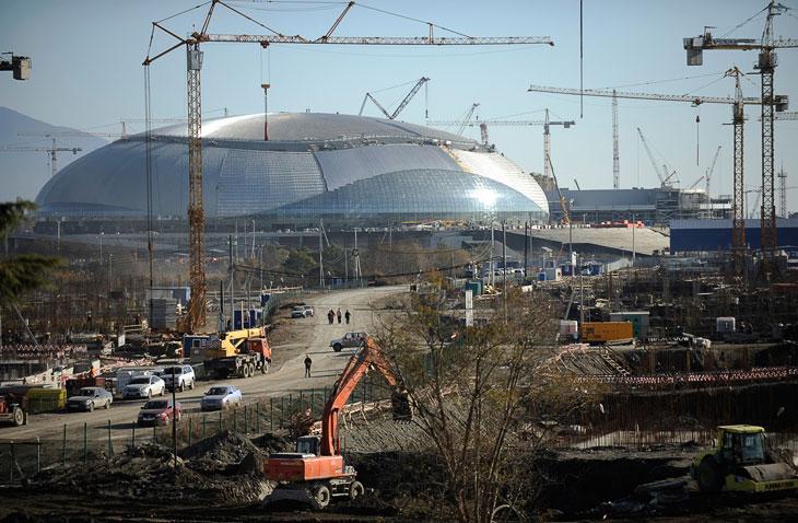 Олимпийская стройка: Сочи 2014