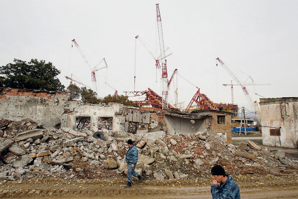Чтобы что-то построить, нужно много разрушить