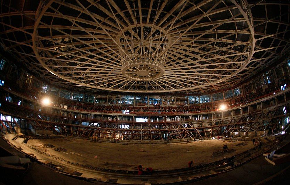 Ледовый дворец «Олимпийский овал»