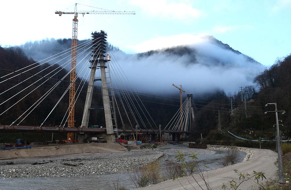 Строительство железнодорожной ветки, которая свяжет Прибрежный кластер и Горный кластер