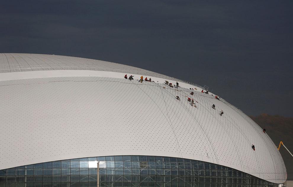 «Большой» Ледовый дворец действительно большой