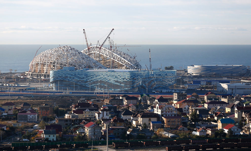 Строительство в Олимпийском парке