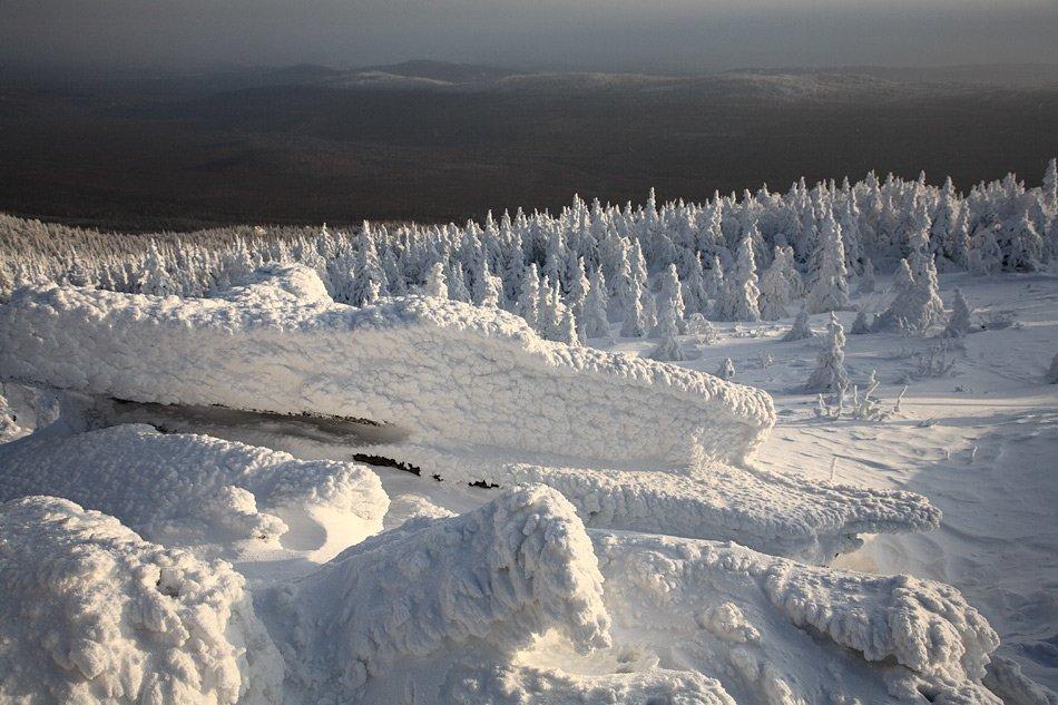 Зима в Национальном парке Таганай