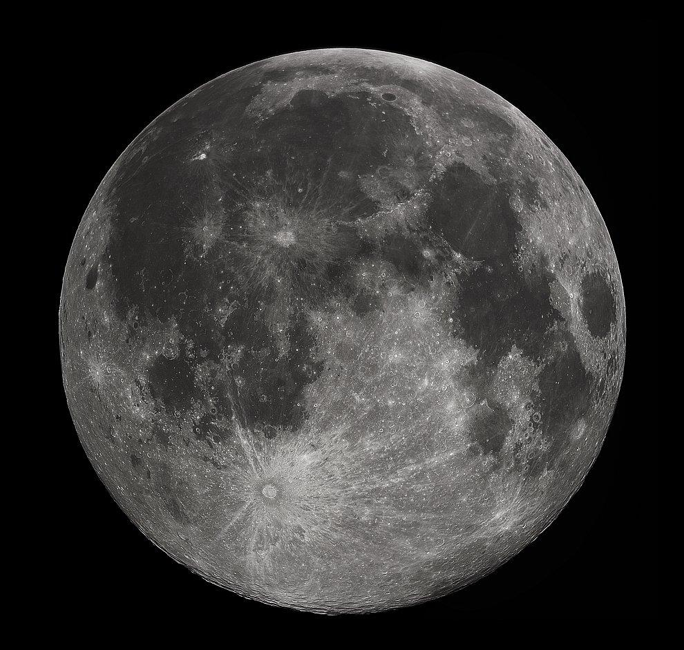 Луна. Самый знакомый объект на звездном небе