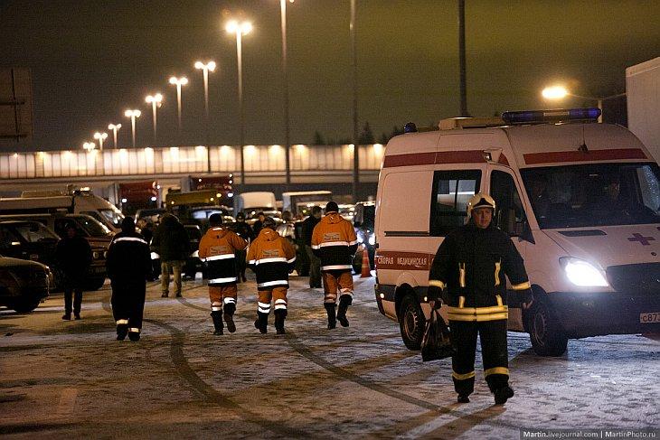 Крушение Ту-204 в аэропорту Внуково