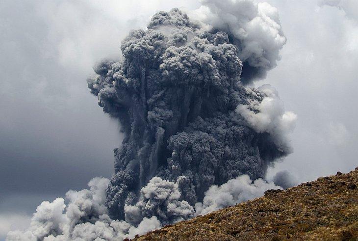 Гора Тонгариро