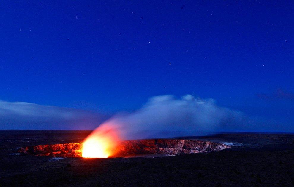 Кратер вулкана Килауэа