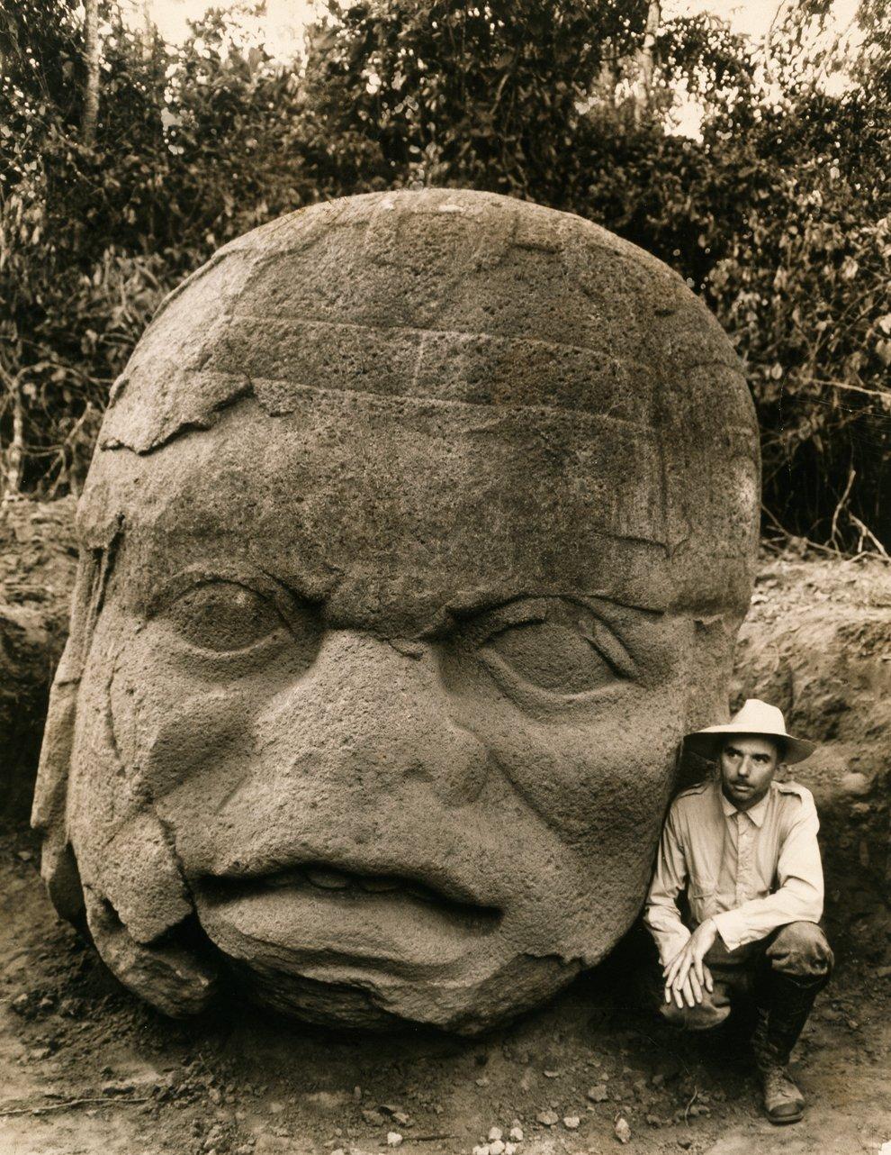 Во время экспедиции в мексиканский штат Веракрус были найдены колоссальные каменные головы, свидетельствующие о древней цивилизации ольмеков