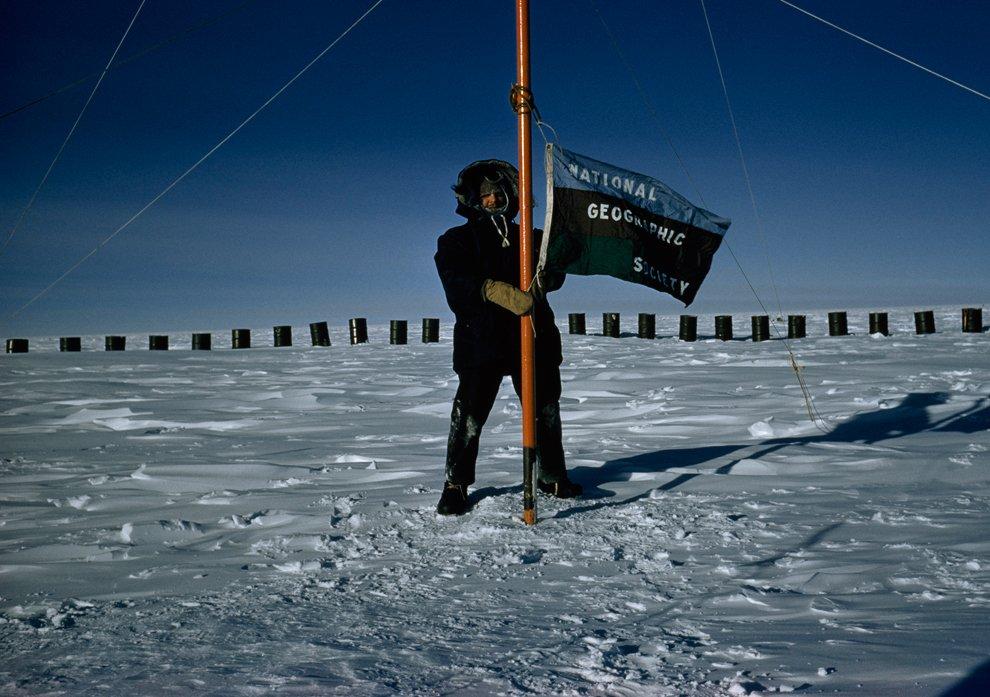 Томас Аберкромби — первый фотокорреспондент журнала, достигший Южного полюса