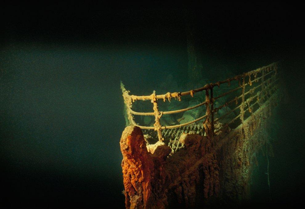 Титаник на дне Северной Атлантики