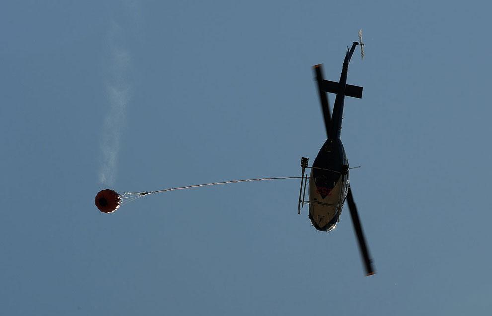 Пожарный вертолет, штат Южный Уэльс