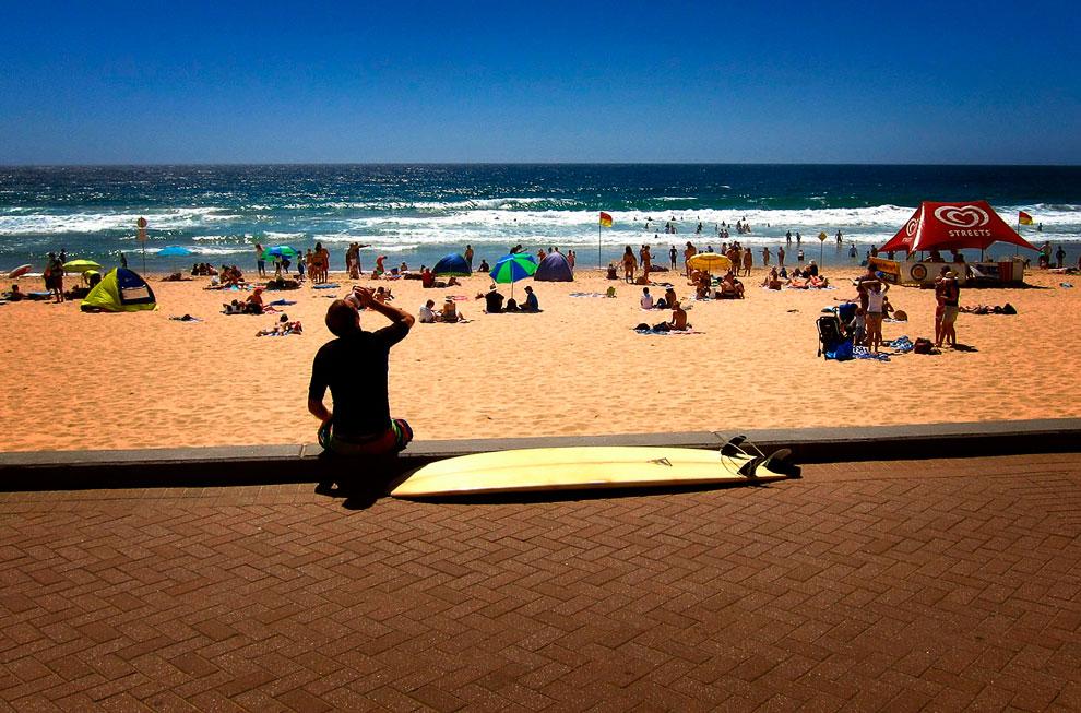 Тем временем, небывалая жара в Австралии начала отступать
