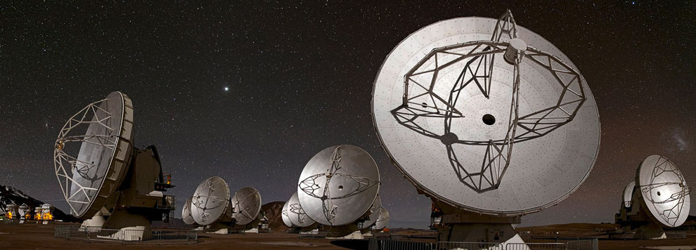 Обсерватория Льяно де Чахнантор