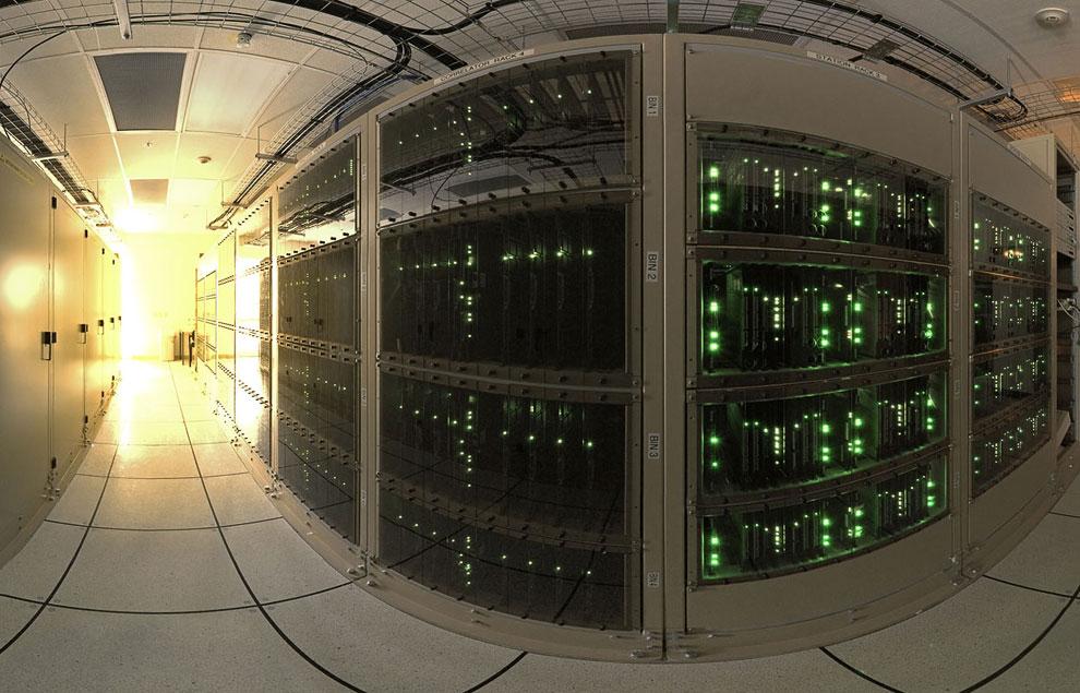 Один из самых мощных суперкомпьютеров в мире