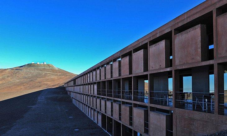Резиденция астрономов в Европейской южной обсерватории